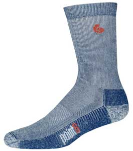 photo: Point6 Trekking Core Heavy Crew hiking/backpacking sock