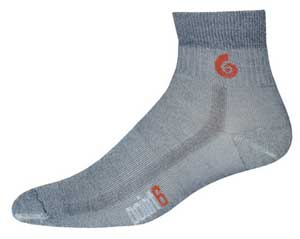 photo: Point6 Hiking Tech Medium Mini Crew hiking/backpacking sock