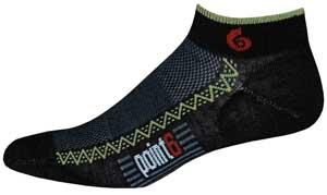 photo: Point6 Running Ultra Light Mini Crew running sock