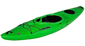 photo of a Pyranha touring kayak