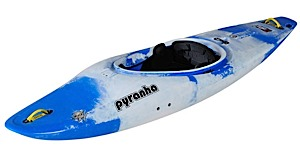 photo: Pyranha Rebel whitewater kayak