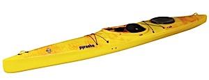 photo: Pyranha Speeder touring kayak