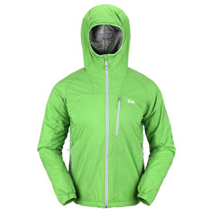 photo: Rab Men's Strata Hoodie synthetic insulated jacket