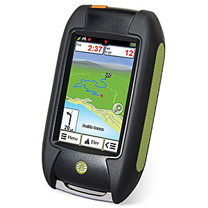 photo of a Rand McNally gps receiver