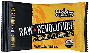 photo: Raw Indulgence Raw Revolution Organic Cashew & Agave Nectar Bar bar