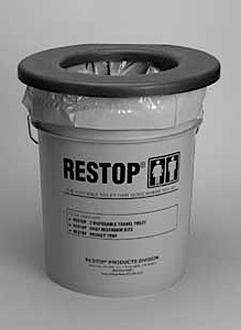 photo: Restop RS510 Commode waste and sanitation supply/device
