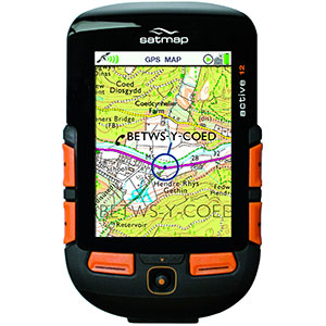 photo of a Satmap navigation tool