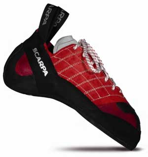 photo: Scarpa Instinct climbing shoe