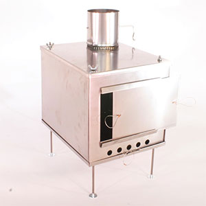 photo of a Seek Outside solid fuel stove