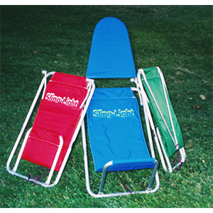 photo of a Sling-Light camp chair