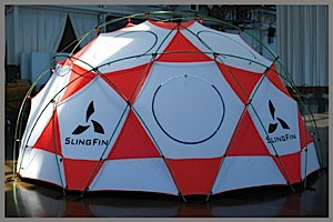 photo: SlingFin LFD four-season tent