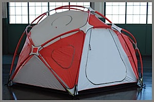 photo: SlingFin High & Mighty four-season tent