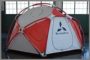 photo: SlingFin Last Resort four-season tent