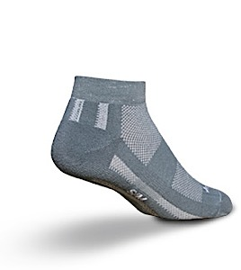 photo of a SockGuy running sock