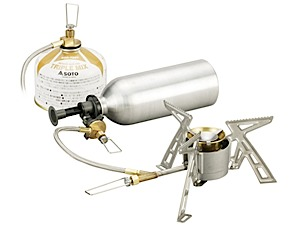 photo: Soto Dual Fuel Stove liquid fuel stove