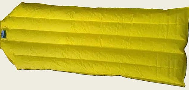photo: Stephenson's Warmlite Down Filled Air Mattress air-filled sleeping pad