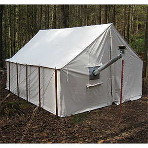 "Tentsmiths 11'3"" x 14' x 8' Wall Tent"