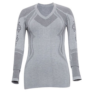 photo: Terramar SmartSilk V-Neck Crew base layer top