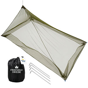 The Friendly Swede Mosquito Net Single