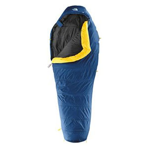 photo: The North Face Squall 3-season synthetic sleeping bag
