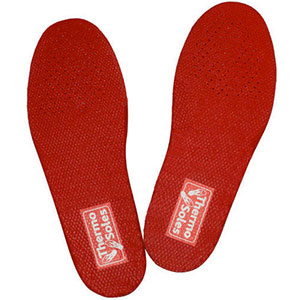 Thermo Soles Rechargeable Heated Insoles
