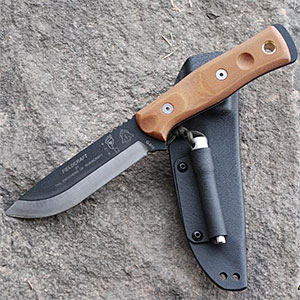 photo: TOPS Knives Fieldcraft by Brothers of Bushcraft fixed-blade knife