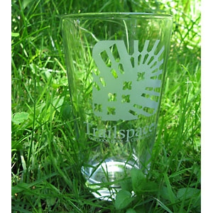 Trailspace Pint Glass