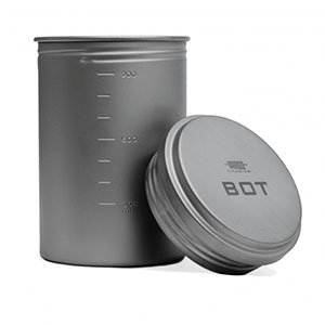 photo: Vargo Titanium BOT Bottle Pot pot/pan
