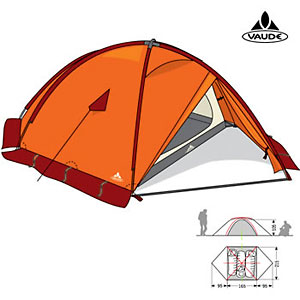photo: VauDe Space K2 four-season tent