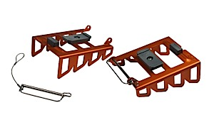 photo: Voile Splitboard Crampon splitboard kit