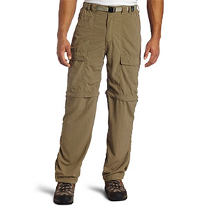 photo: White Sierra Trail Convertible Pant hiking pant