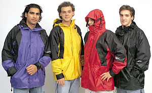photo of a World Famous waterproof jacket