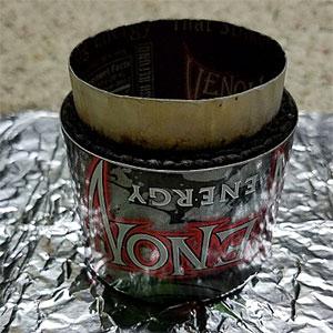 photo: Zelph's Stoveworks Venom Super Stove alcohol stove