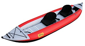 photo: Zoik Inflatables AlterEgo II Tandem inflatable kayak