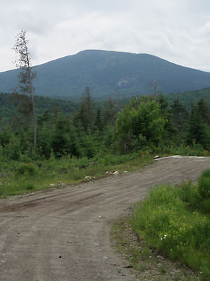 Baldpate Mountain from Burroughs Brook Road