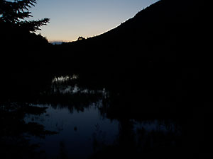 twilight at C Pond