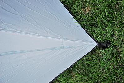 Make sure to pull the tent and fly taut when applying sealant. & How to Seam Seal a Tent - Trailspace.com