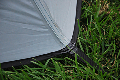 Pay close attention to sealing the tie-down points at corners. & How to Seam Seal a Tent - Trailspace.com