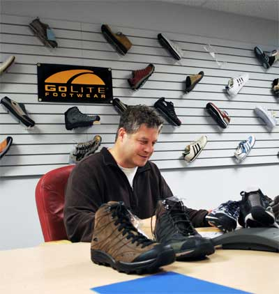 Doug Clark of GoLite Footwear