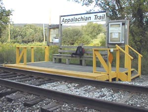 MTA Appalachian Trail Station Near Pauling, NY